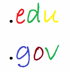 backlink domain edu gov