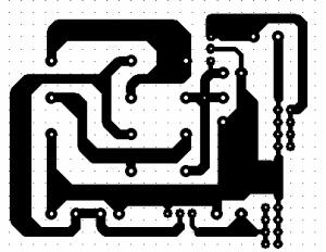 PCB catu daya 5 volt