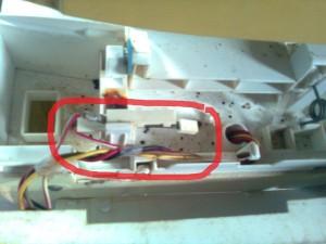 kerusakan sistem pengering mesin cuci