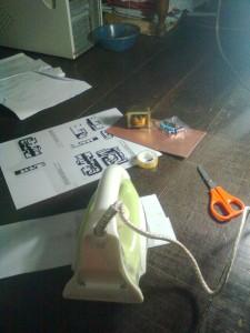 setrika pembuatan catu daya