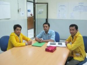 meeting kerja praktek