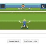 Tendangan Penalti pada Halaman Google