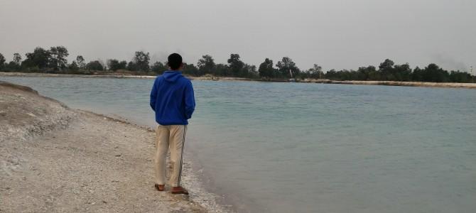 Danau Biru, Gambut