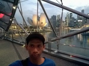 Helix Bridge Singapura