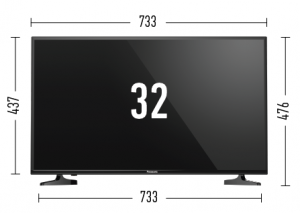 Panasonic tv led 32 inch
