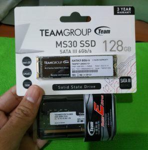 Teamgroup SSD dan RAM