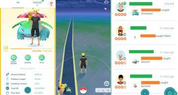 Cara Paling Cepat Menaikkan Level XP Pemain Pokemon GO