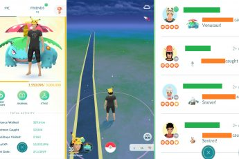 cara cepat menaikkan level XP Pokemon GO 2
